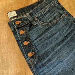 J. Crew Jeans - J Crew Straightaway Button Fly Jeans 28